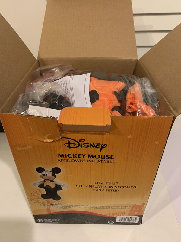 Inflatable Halloween Mickey Mouse