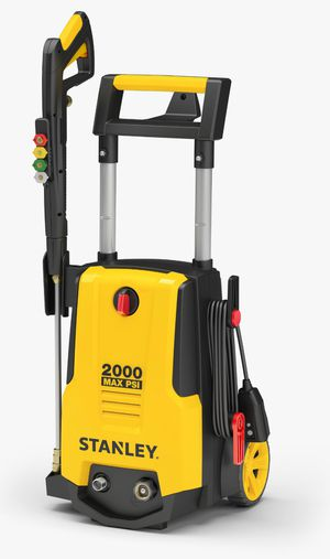 Stanley Electric Pressure Washer 2000 PSI, with Gun, Hose, Nozzles & Foam cannon, SHPW2000 for Sale in Houston, TX
