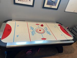Zoom Air Hockey table and pucs for Sale in Tomball, TX
