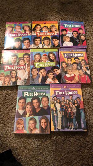 Full house season 1 threw 8 for Sale in San Angelo, TX