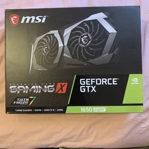 Msi Geforce Gtx 1650 super gaming x 4gb DDR6 graphics card for Sale in Modesto, CA