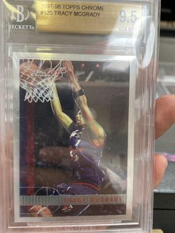 Tracy Mcgrady Topps Chrome RC Card BGS 9.5 for Sale in Tustin,  CA