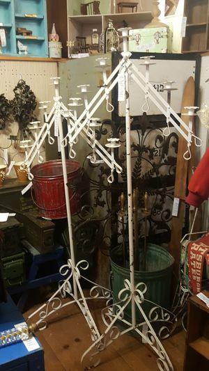 Vintage Metal Candelabras for Sale in Snohomish, WA