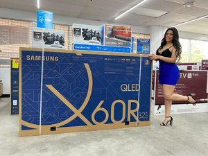 Yes available!!v 70'82' QLED Samsung smart 4K TVs �FREE PS4� JUST $39 Down NO CREDIT CHECK🍀 for Sale in Houston, TX