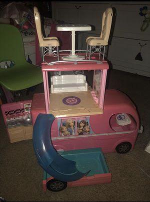 Barbie pop up camper vehicle for Sale in Burbank, CA