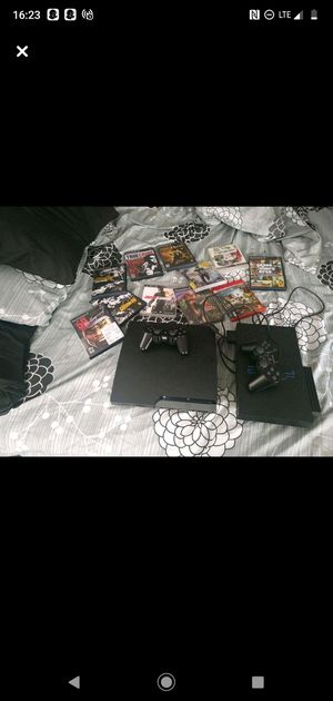 190 PS2 AND PS3 More 800 games incluid for Sale in Newark, NJ