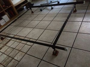Twin/Full Bed Frame and bed stoppers for Sale in El Monte, CA