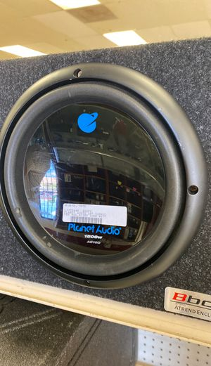 "Planet audio 10"" single subwoofer for Sale in Austin, TX"