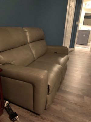Leather Loveseat Recliner for Sale in San Diego, CA