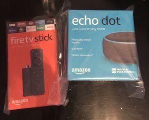 Fire Tv stick +echo dot for Sale in Austin, TX