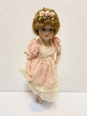Vintage Porcelain Ballerina Doll for Sale in Waynesboro, VA
