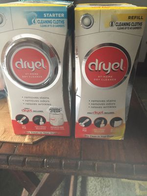 Dryel for cleaning clothes for Sale in Cleveland, OH