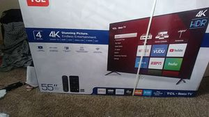 Tcl 55 inch smart tv for Sale in Dallas, TX
