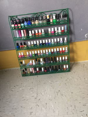 Nail polish rack for Sale for sale  New York, NY
