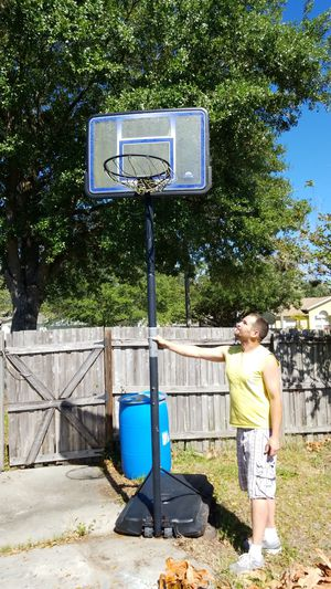 Basketball Hoop and base for Sale in Riverview, FL