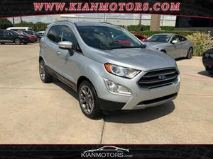 2019 Ford Ecosport for Sale in Denton, TX