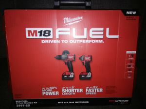 New Milwaukee M18 Brushless Fuel Combo Kit. for Sale in Canyon Lake, CA