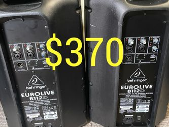 Like New Pa Dj Powered Speakers for Sale in San Jose,  CA