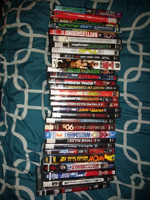 WWE dvds for Sale in Benzonia, MI