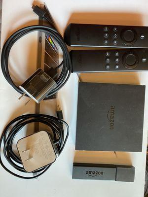 Amazon fire stick + Amazon fire TV for Sale in Big Bear Lake, CA