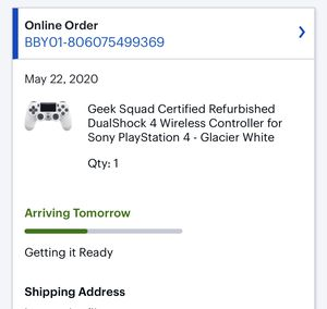 Glacier White Ps4 Rare Controller Brand New for Sale in Orlando, FL