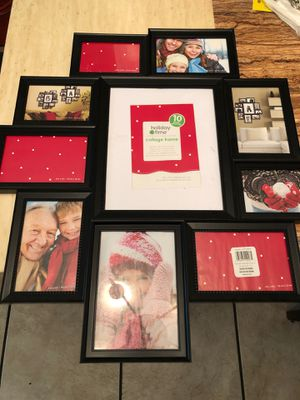 10 photo collage frame for Sale in Tampa, FL