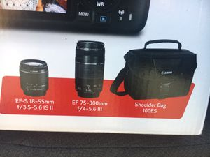 Canon Lenses and bag for Sale in Westerville, OH