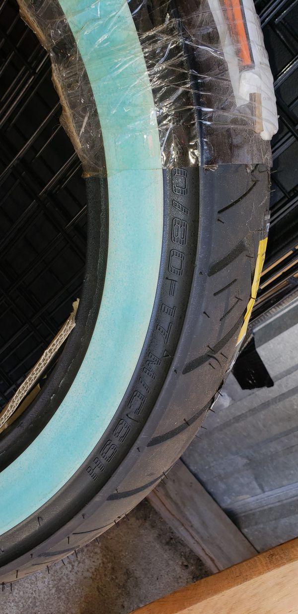 Shinko rear motorcycle tire 140/80-17ww