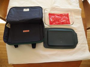 Pyrex dish & carrier for Sale in Wheaton, MD