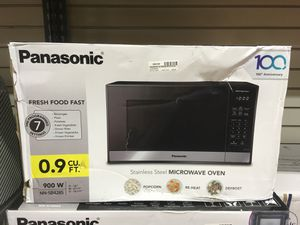 Panasonic 0.9 cu.ft microwave for Sale in Dallas, TX