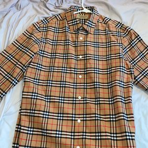 "Burberry "" Check Cotton Poplin ShirtPrice "" for Sale in Lynnwood, WA"