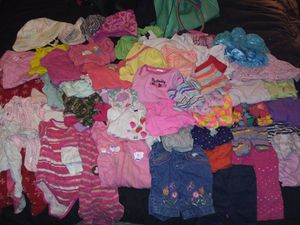 Baby girl clothes 0 to 6 months for Sale in Abilene, TX