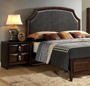 🔹 Maho Brown Black Queen Bedroom Set $39 DOWN Payment for Sale in Arlington, VA