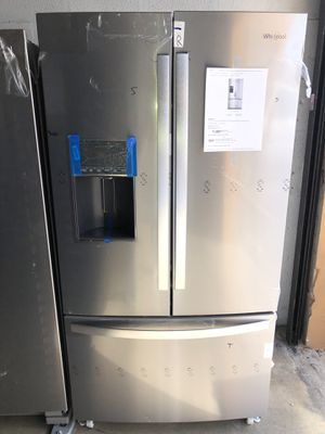 """WHIRLPOOL REFRIGERATOR 36"""" NEW WARRANTY AND DELIVERY for Sale in Hialeah, FL"""