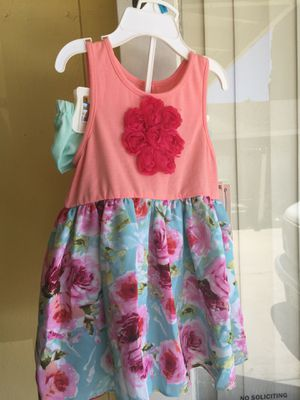 Girls summer dress with 🌸 flowers 🌸 for Sale in Santa Ana, CA