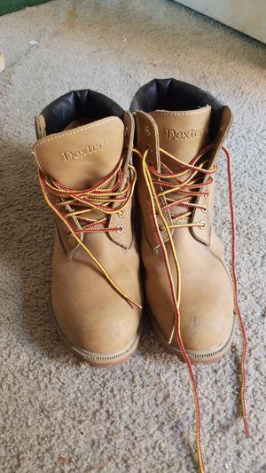 Men's 10.5 Dexter work boots for Sale in Oceanside, CA