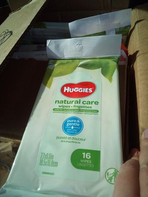 Huggies natural wipes for Sale in Rose Valley, PA