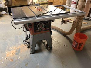 Ridgid Table Saw for Sale in San Mateo, CA