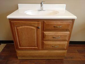 Bathroom vanity with top for Sale in St. Peters, MO