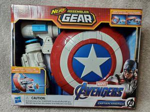 Nerf Marvel Avengers Captain America Assembler Gear Blaster Toy for Sale in Mesa, AZ