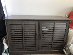 Shuttered Door TV Stand for Sale in Baltimore, MD