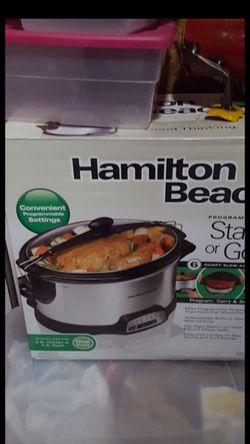 New hamilton beach crock pot/slow cooker for Sale in Philadelphia,  PA