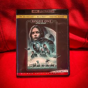 Star Wars: Rogue One Blu-Ray + 3D + Digital (No UHD disk) for Sale in Severn, MD