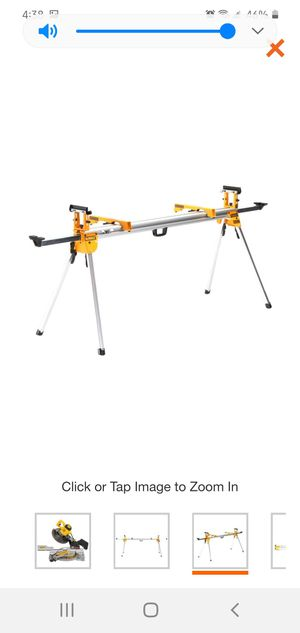 DEWALT Heavy Duty Miter Saw Stand for Sale in Dumfries, VA