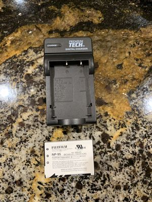 Premium TECH Digital Charger For Nicon Camera w/ FujiFilm Rechargeable Battery NP-95 for Sale in Irvine, CA