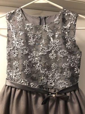 Silver flower girls dresses for Sale in Morgan, UT