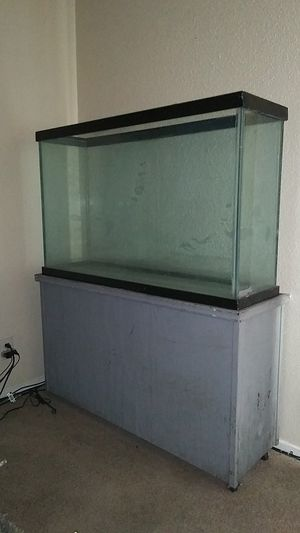Reptile tank wit stand. Must go for Sale in Texas City, TX