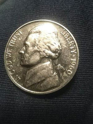 1960 Jefferson nickel for Sale in Katy, TX