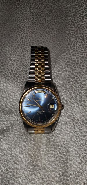 Vtg Waltham Date Watch Blue for Sale in Portland, OR