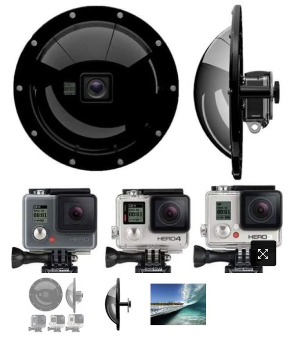 GDome for GoPro Hero 3,4